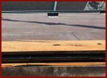 湿気の影響で防水紙や釘に悪い影響を与えてしまっている