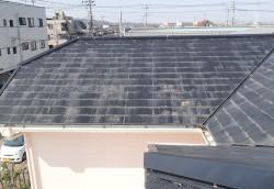 屋根塗装工事ビフォア