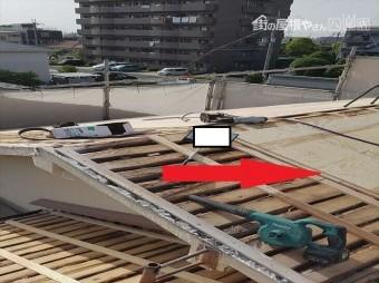 八尾 耐震 屋根葺き替え工事