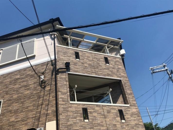 3Fテラス屋根家の様子