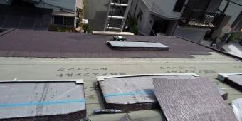 カラーベスト屋根施工