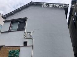外壁の補修前