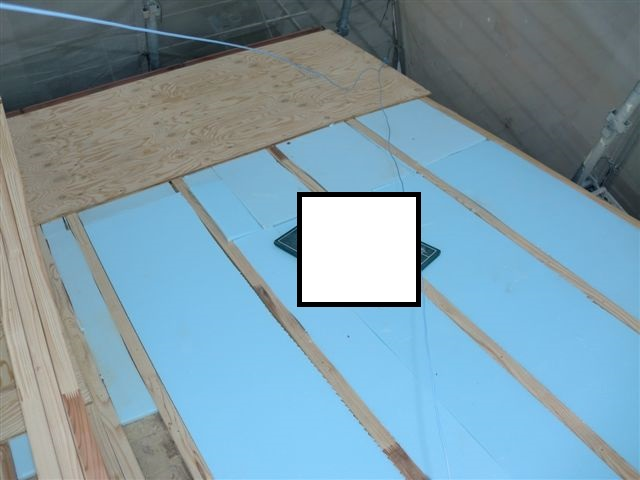 屋根スタイロ施工