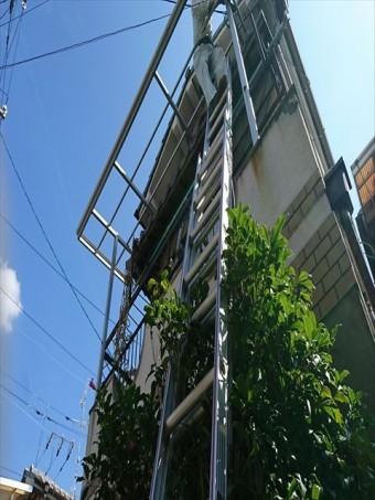 八尾市で波板撤去