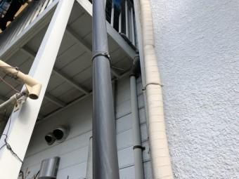 八尾市で樋の現場調査