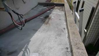 庇の防水の現状