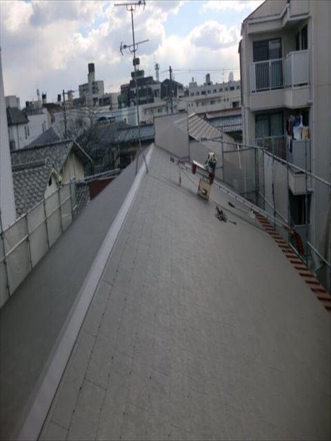 八尾市 屋根工事 コロニアル