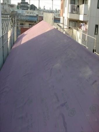 八尾市屋根防水シート