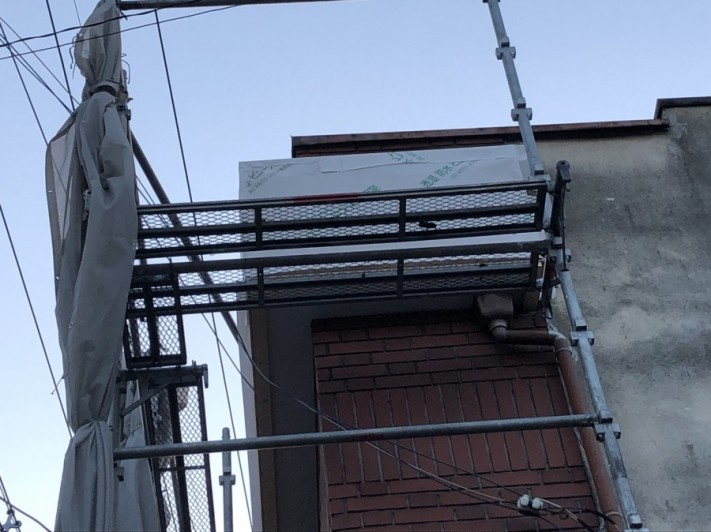 八尾市 外壁下地