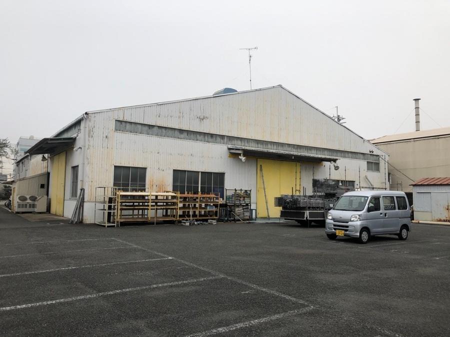 工場の屋根ケラバ工事