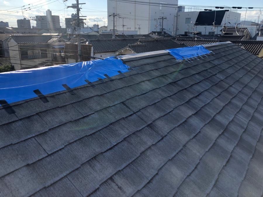 八尾市 屋根の板金工事