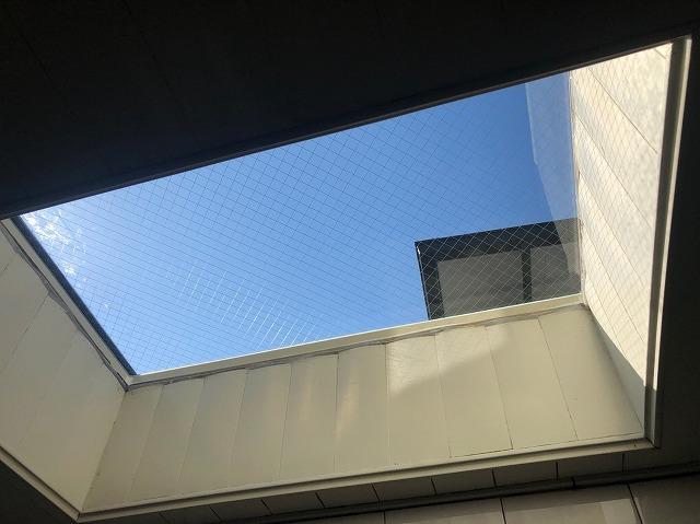 天窓施工完了