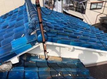 屋根の側面