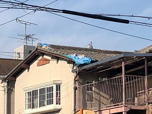 土葺屋根瓦