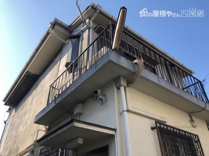 二階建てのお家現場調査
