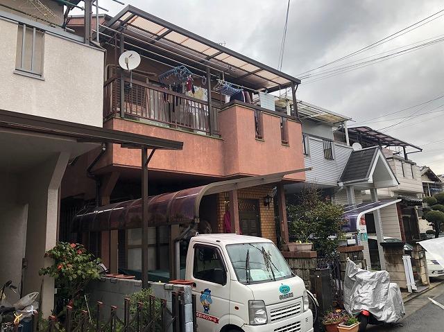 屋根塗り替え
