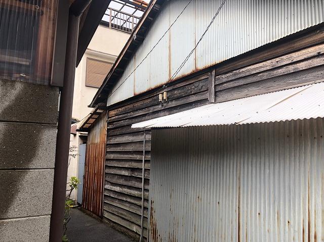 連棟側面壁