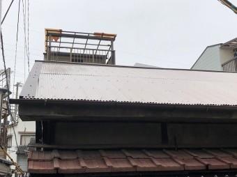 トタン屋根施工