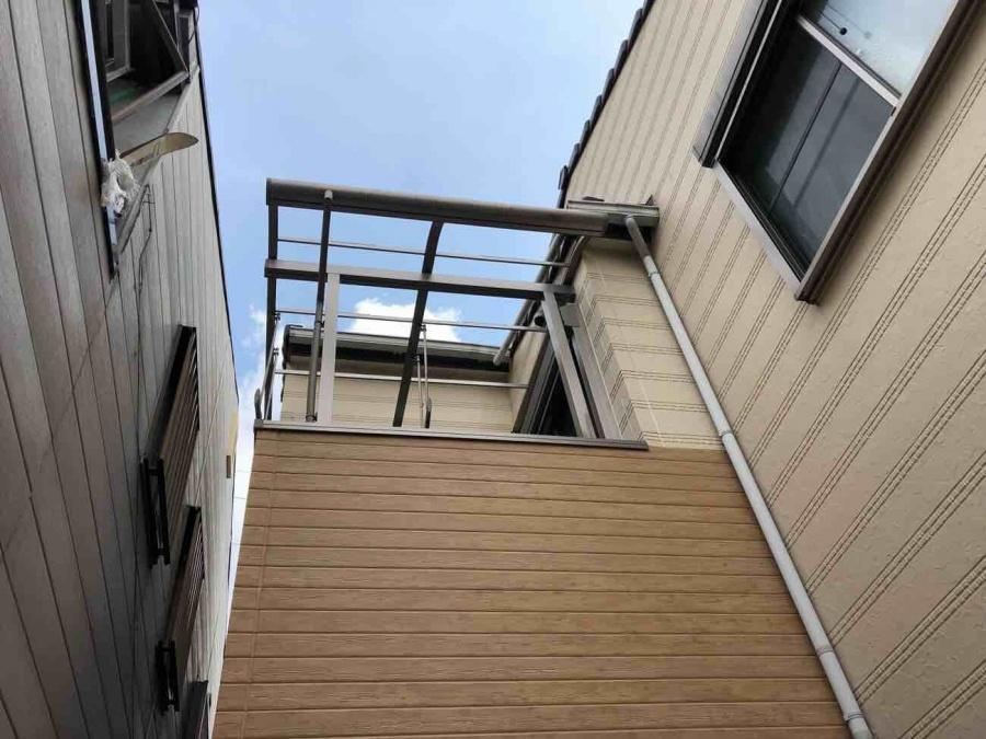 2階のポリカ撤去後