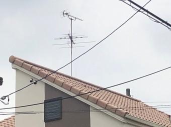 屋根を下から確認