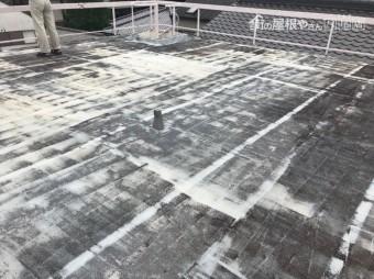 25年前防水工事をした屋上