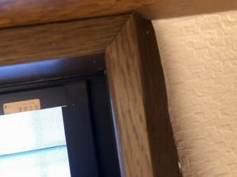 窓枠膨らみ