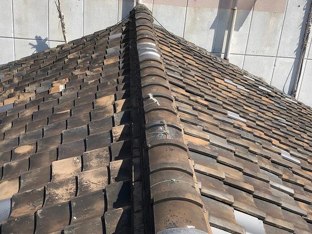 連棟の屋根