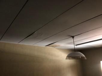 天井の雨漏れ