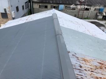 トタン屋根から雨漏り