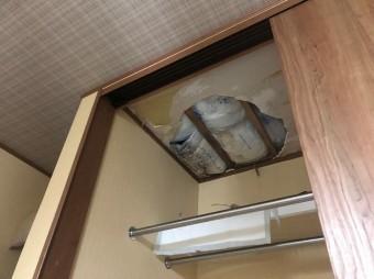 クローゼット天井