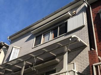3階建ての屋根点検