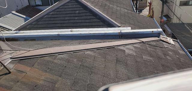 屋根修繕の点検