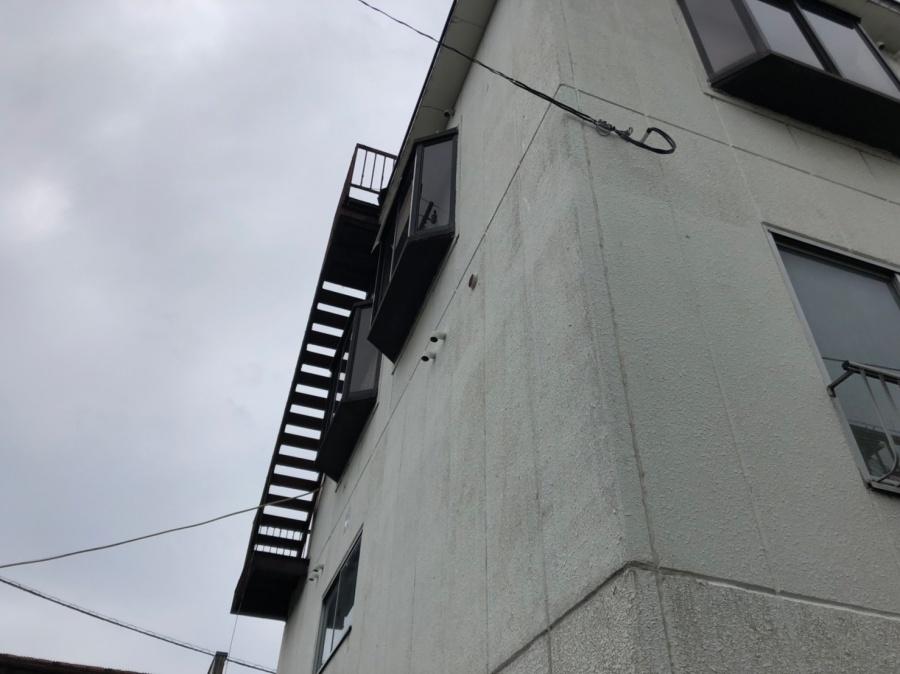 階段塗装裏面