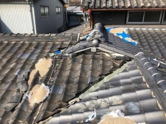 屋根養生の劣化
