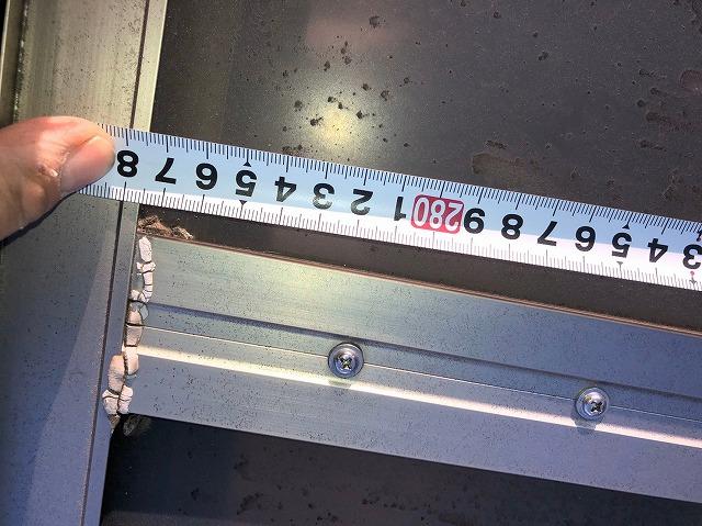 ポリカーボネート板採寸