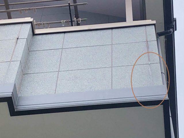 八尾市で外壁の目地やサッシ廻りのシール打ち替え工事をしました