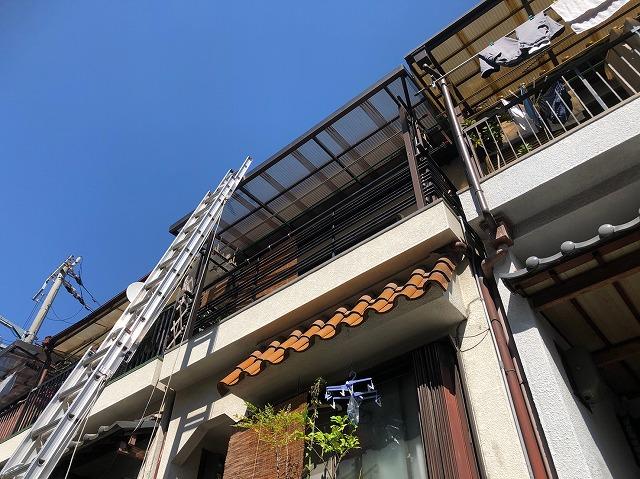 3階建て屋根