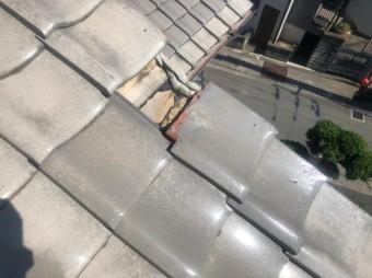 屋根台風被害