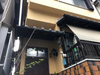 テラス屋根_取り替え工事