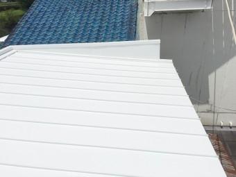 屋根_葺き替え_勾配_ガルバリウム鋼
