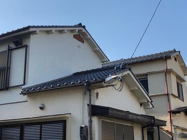 雨漏り修理施工後