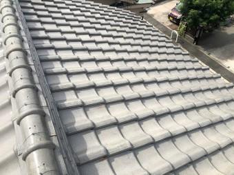 屋根かわらの点検