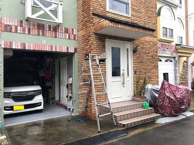 玄関雨漏り