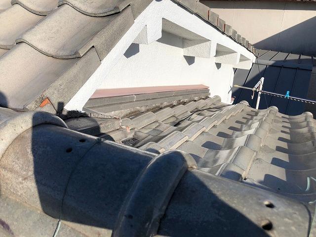 東大阪市で屋根修繕工事のご相談を頂き屋根の無料点検