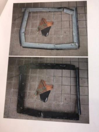 富田林市煙突の部品