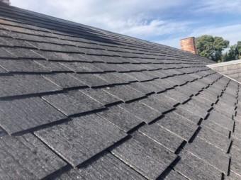 富田林市急勾配の屋根