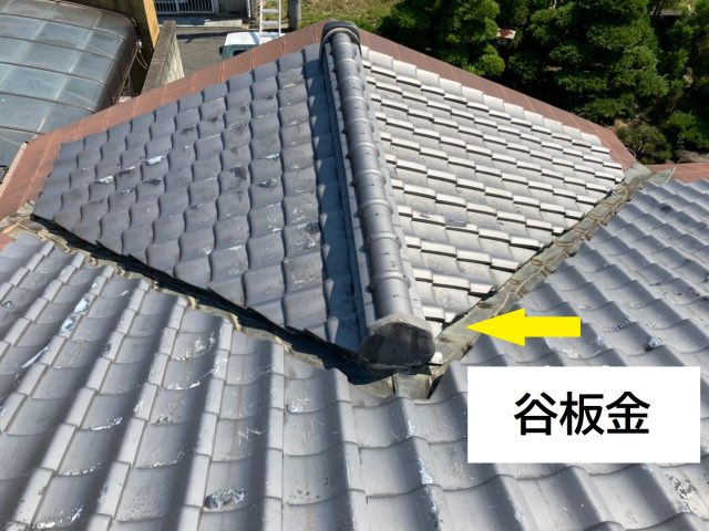 八尾市で雨漏りを止めるために屋根補修工事をしました