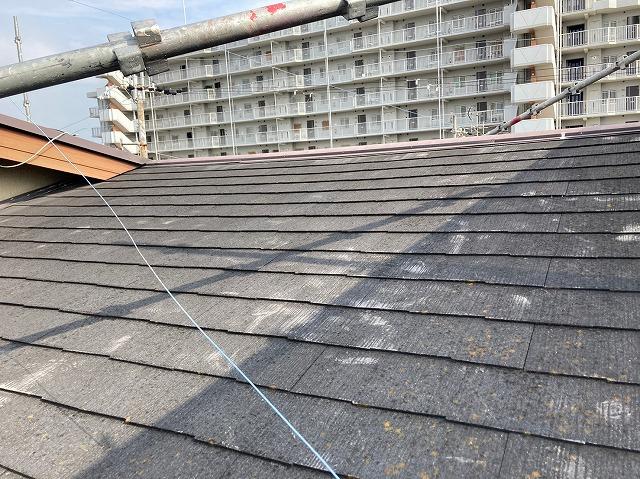 施工前点検屋根