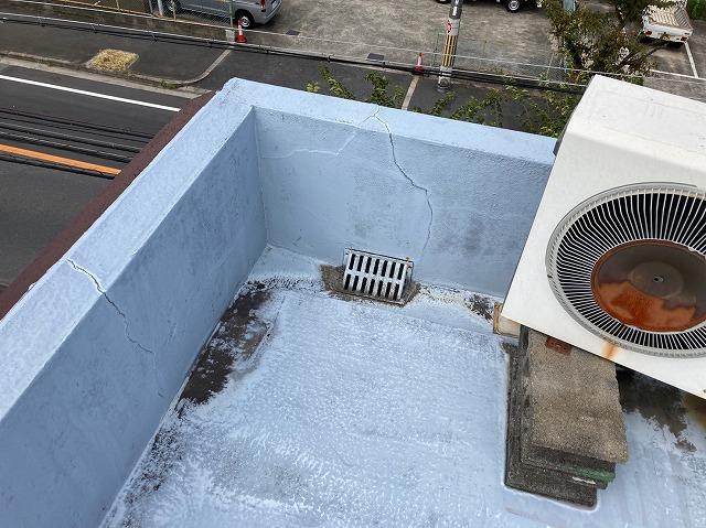 陸屋根排水