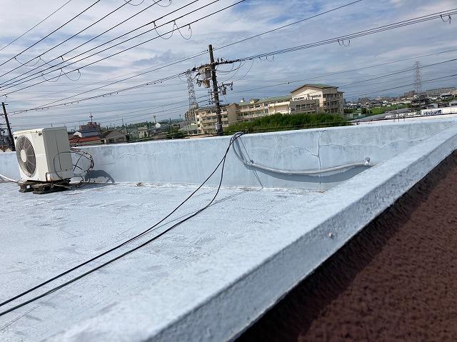屋上の配線・配管